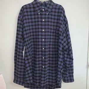EUC Ralph Lauren Big Shirt Long Sleeve Size L